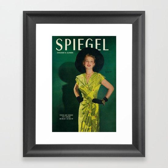 1951 Spring/Summer Catalog Cover Framed Art Print