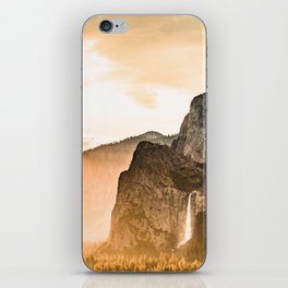 Yosemite Valley Burn - Sunrise iPhone Skin