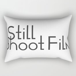 I Still Shoot Film - 1line Rectangular Pillow