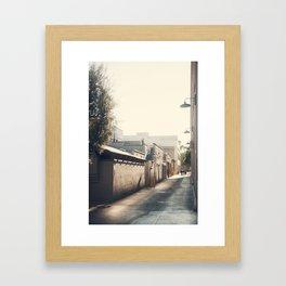 Friday Evening, Pasadena Framed Art Print