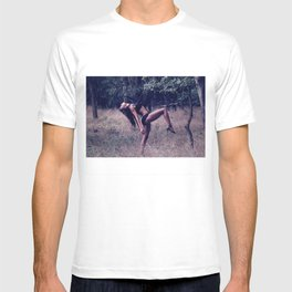 Dancing at the secret beach T-shirt