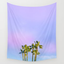 Summer Dreams with Palms Wall Tapestry