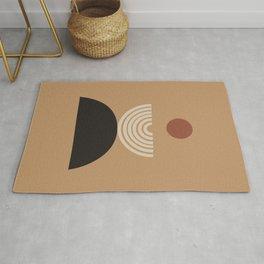 Nascita del sole - The birth of the sun - Modern abstract art Rug