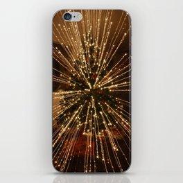 Christmas Tree - Big Explosion iPhone Skin