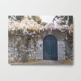 Italian garden wall Metal Print