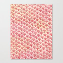 Coral Scales Canvas Print