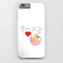 Ramen - LLlamen - らーめん - ラーメン iPhone Case