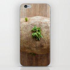 The Blooming Potato iPhone & iPod Skin