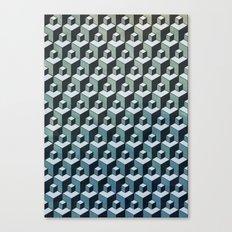 CU:BE Canvas Print