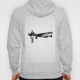 Amelia Earhart with her Airplane Hoody