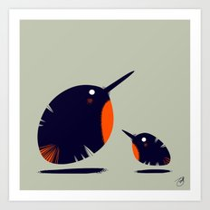 Of a Feather 1 Art Print