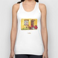 witch Tank Tops featuring Witch by Pepan