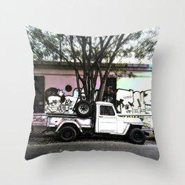Urban stories Throw Pillow