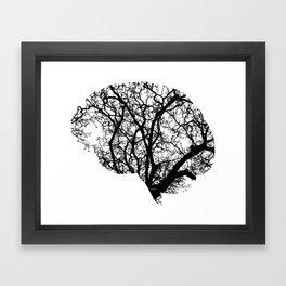 Brain Tree Framed Art Print
