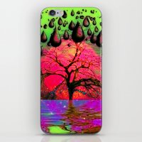 "psychedelic iPhone & iPod Skins featuring ""Psychedelic"" by Moon Willow"