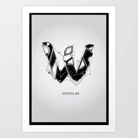 W. Art Print