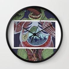 Troll Killer Wall Clock