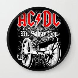 AC/DC - We Salute You Wall Clock