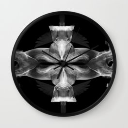 Multiply Horses and Doves Wall Clock