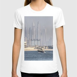 Dubai Yacht And Architecture T-shirt