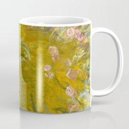 "Claude Monet ""The Path through the Irises"", 1914-1917 Coffee Mug"