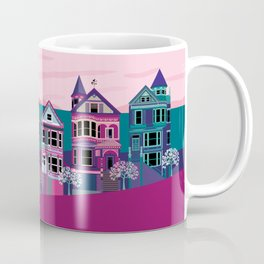 San FranciscoPainted Ladies and Golden Gate Coffee Mug