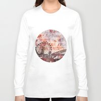 sydney Long Sleeve T-shirts featuring Sydney Luna Park by LebensART