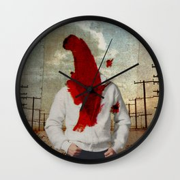 you discovered the difference between no and know Wall Clock
