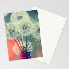 Dandelion Bouquet Lomo SQ Too Whimsical Boho Botanical Nature  Stationery Cards