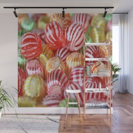 Striped Candy Wall Mural
