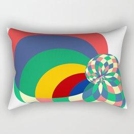 just you, just me Rectangular Pillow