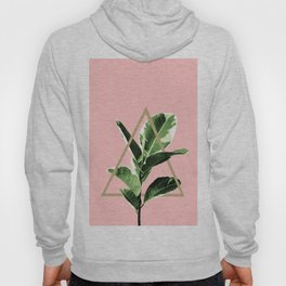 Ficus Elastica Geo Finesse #1 #tropical #foliage #decor #art #society6 Hoody