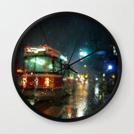Streetcar Interruptus Wall Clock