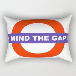Mind The Gap Logo Rectangular Pillow