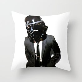 Corporate Shadowtrooper Throw Pillow