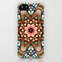 Sagrada Familia - Vitral 1 iPhone Case