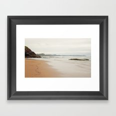 Sea Asturias Framed Art Print