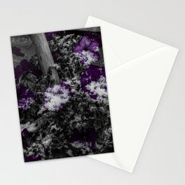 First Snow Of The Season Stationery Cards