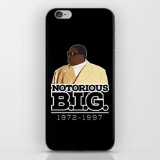Christopher 'Notorious B.I.G.' Wallace iPhone & iPod Skin