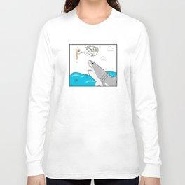 Mr. Shark Insurance Broker Ltd. Long Sleeve T-shirt