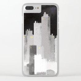 Edinburgh studies Clear iPhone Case