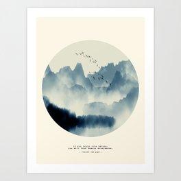 Beauty of Silence Art Print
