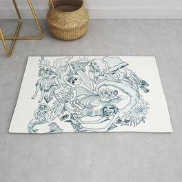 The Little Mermaid (Wonderful Mess Series) Rug