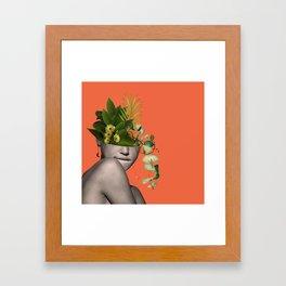 LADY FLOWERS XII Framed Art Print