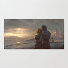 Mass Effect - English Bay Canvas Print