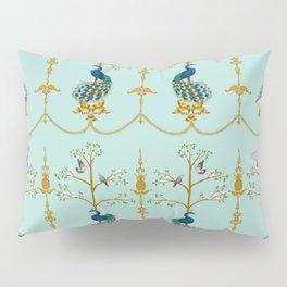 Rococo Peacocks Pillow Sham