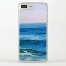 Nado Waves Clear iPhone Case