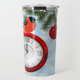 Christmas or New Year decoration Travel Mug