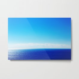 sky and sea Metal Print