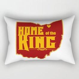 Home of the King (White) Rectangular Pillow